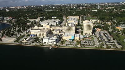 Mercy Hospital Aerial view